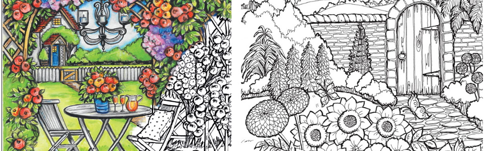 Amazon.com: Creative Haven Country Gardens Coloring Book (Creative Haven Coloring  Books) (0800759840458): Goodridge, Teresa: Books