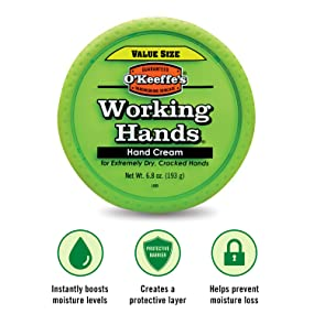 amazon com o keeffe s working hands hand cream value size 6 8