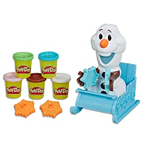 disney, frozen, olaf, frozenolaf, play-doh
