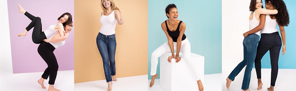 jeans,  skinny, straight, bootcut, mid-rise, denim, skinny pant