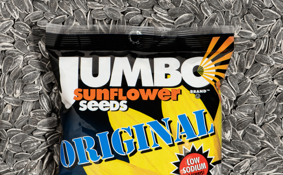 seeds sunflower seed original less salty low sodium protein snack fiber delicious snacks jumbo giant