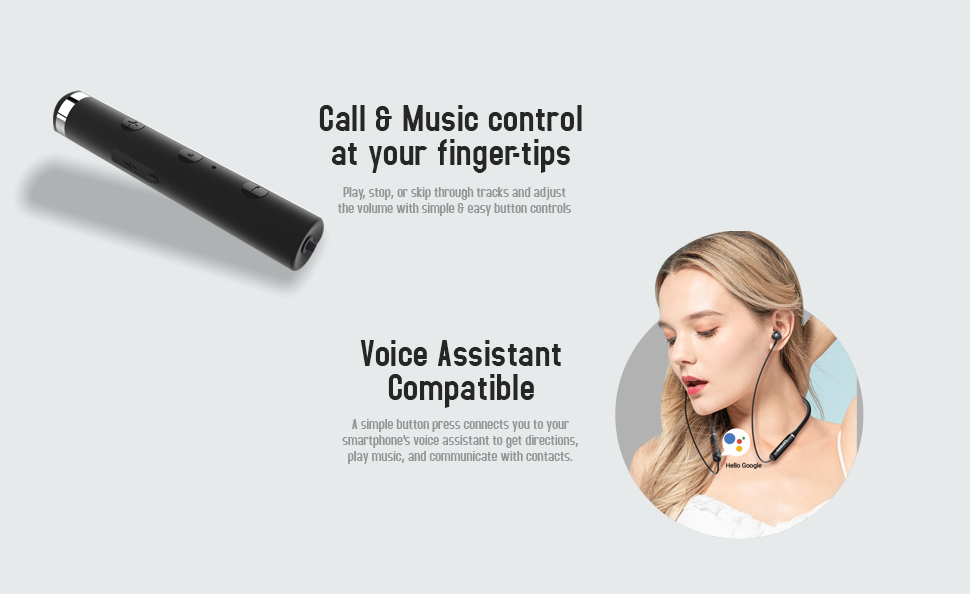 Stereo Bluetooth earphones