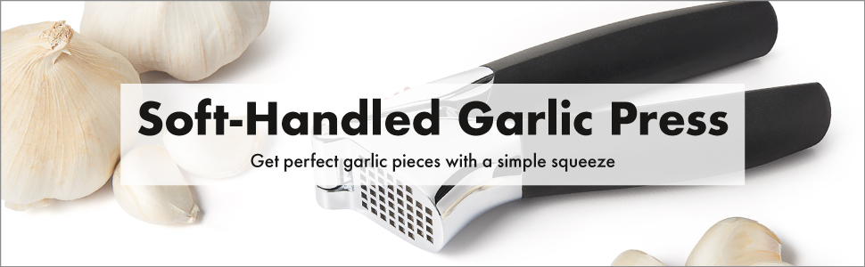 OXO Good Grips Soft-Handled Garlic Press