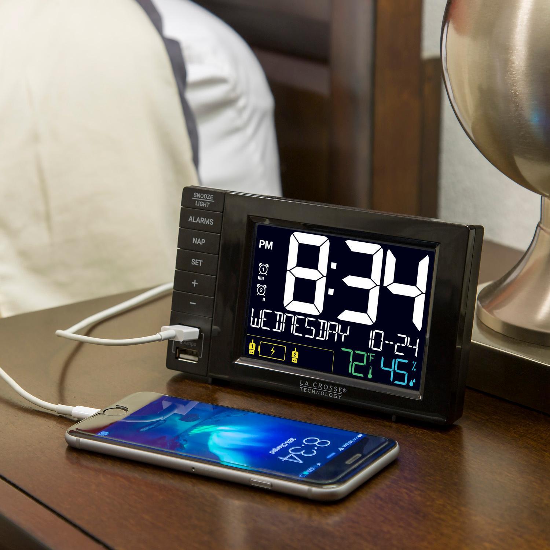 Amazon Com La Crosse Technology S85906 Usb Charging