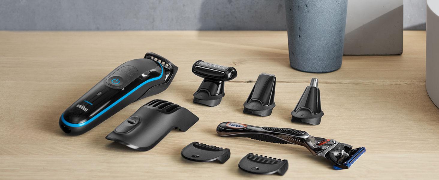Scopri gli accessori di Braun MultiGrooming kit