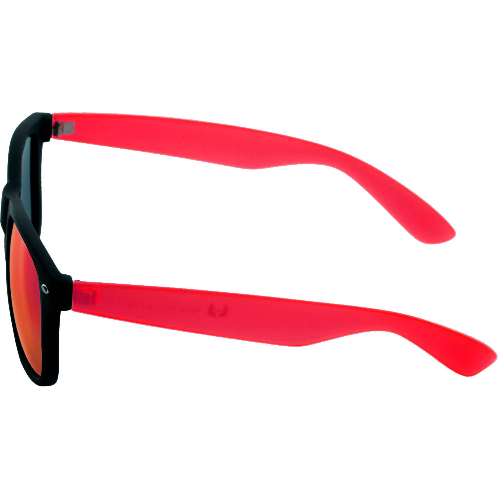 MSTRDS Likoma Mirror Unisex Sonnenbrille Für Damen und Herren mit verspiegelten Gläsern, grey/purple
