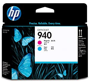 HP 940 Magenta and Cyan Original Printhead C4901A