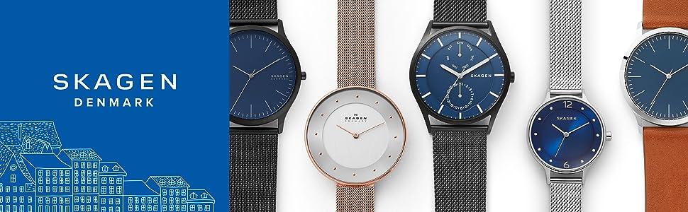 Skagen watch, wrist watch, minimalist watch, watches, mens watch, men's watches, women's watches