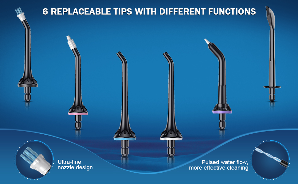 Cordless Dental Oral Irrigator