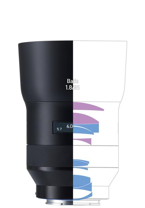 ZEISS Batis 1.8/85 Telephoto Camera Lens for Sony E-mount Mirrorless Cameras