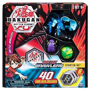 Takara Tomy Bakugan Battle Planet Brawlers Baku018 DX /& Basic Starter Set 3pcs