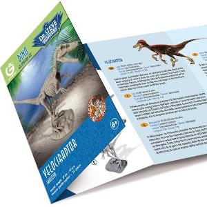 Geoworld Dino Excavation Kit Velociraptor Skeleton