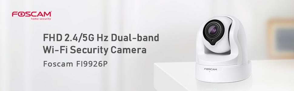 W Foscam FI9816P 720P Indoor Wireless Night Vision PT IP Camera-Open Box