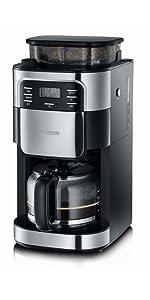 Severin, 4810, cafetera, café, espresso, descafeinado, molinillo ...