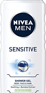shower gel; body wash; mens body wash; mens shower gel; sensitive shower gel; sensitive body wash;