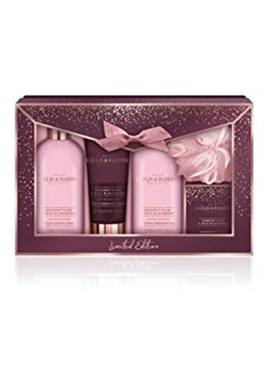 Baylis & Harding Midnight Plum & Wild Blackberry Indulgent Bathing Gift Set