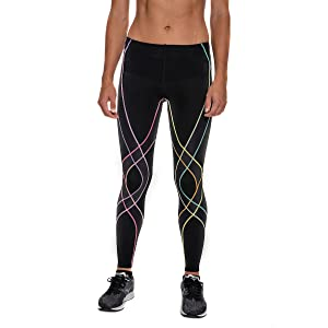 c74591a4f CW-X women's endurance generator muscle and joint support compression tights