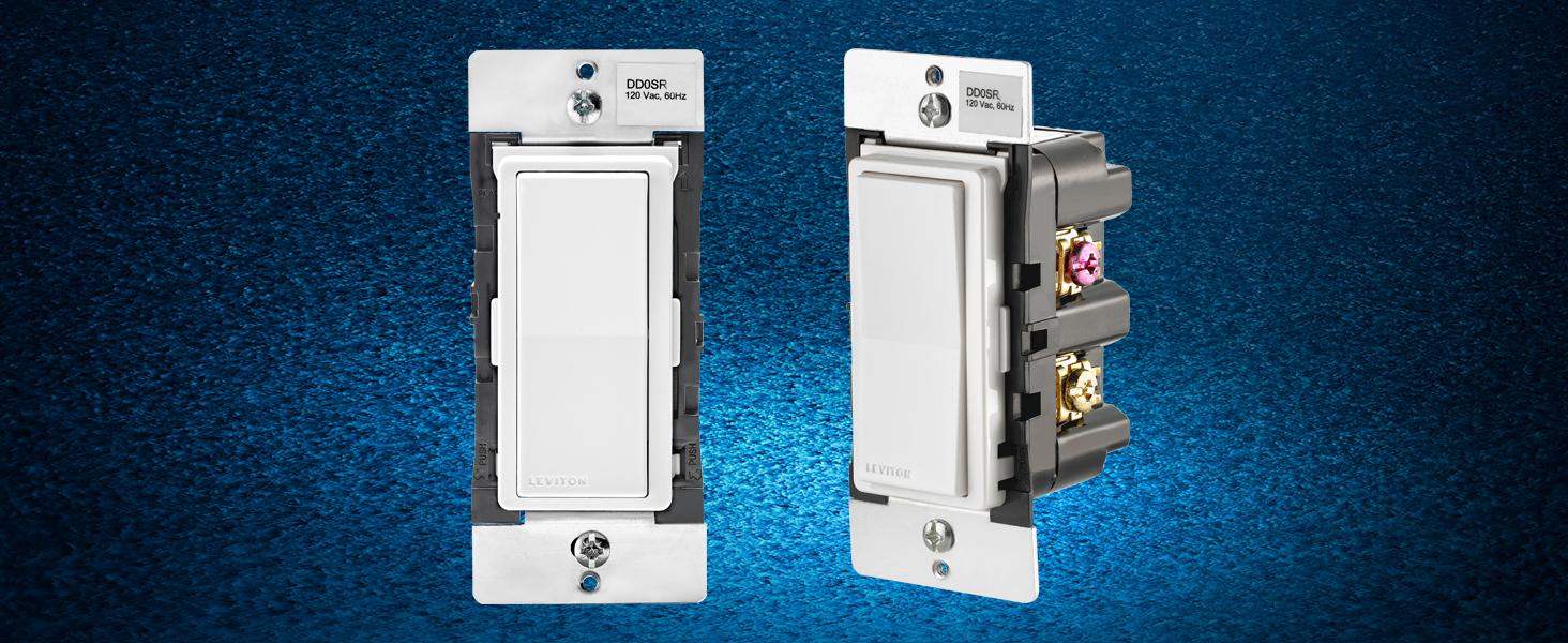 Leviton DD0SR-1Z Decora Companion Switch for multi-location control,  120VAC, 60Hz - - Amazon.com
