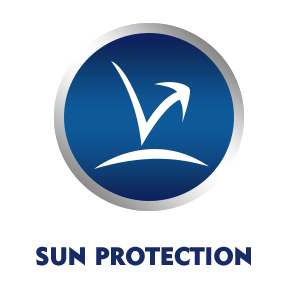 The UV filters protects your skin from UVA and UVB rays