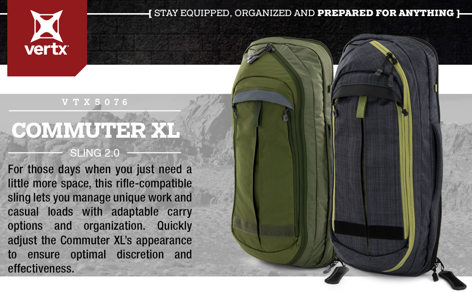 Vertx Commuter XL Sling Heading