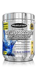 neurocore, pre workout powder