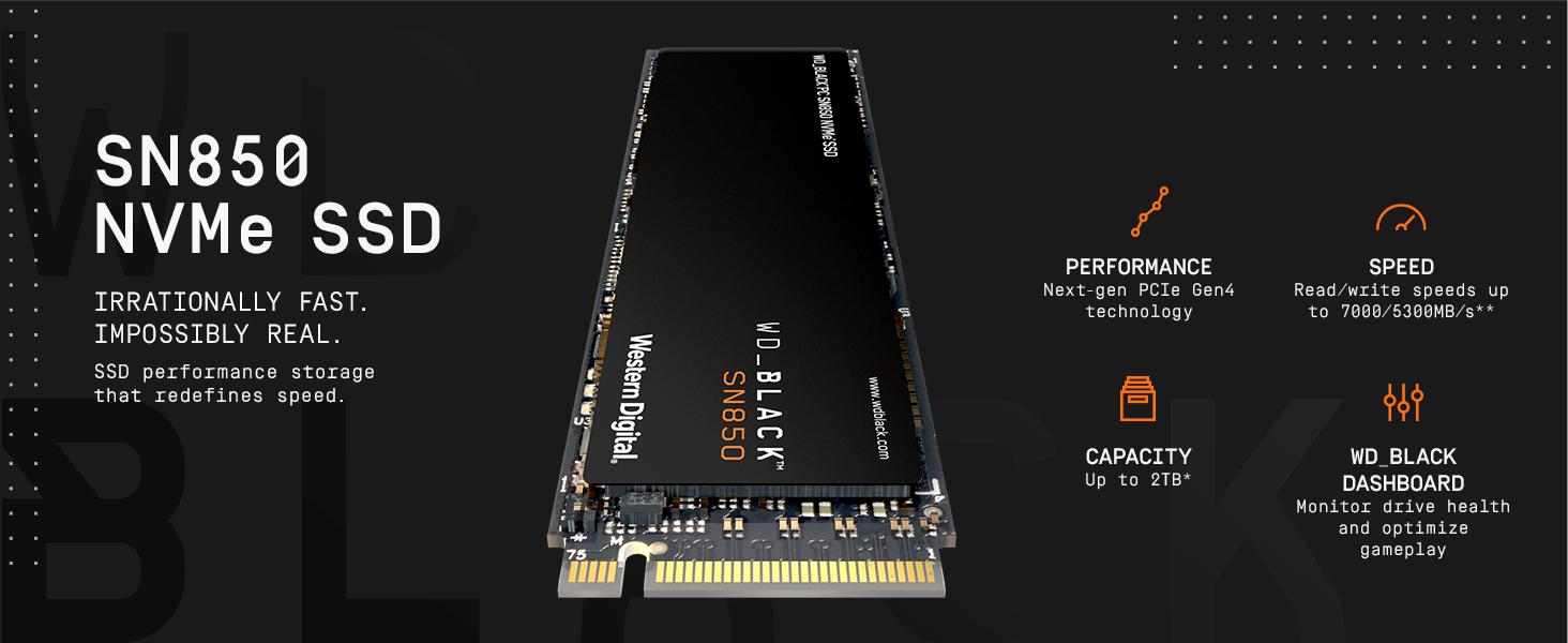 SN850 NVME SSD