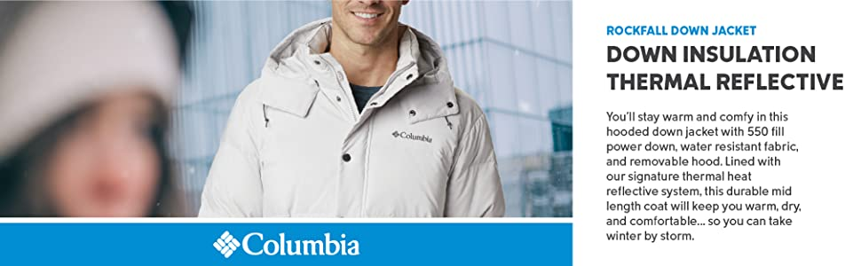 Columbia Men's Rockfall Down Jacket