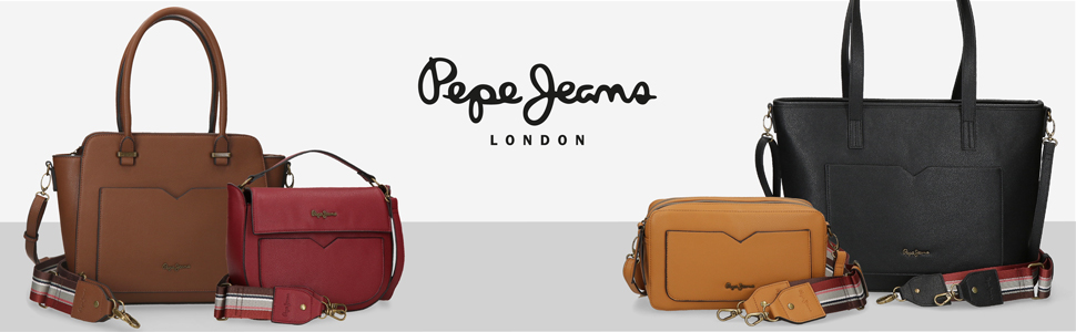 bolsos pepe jeans casual