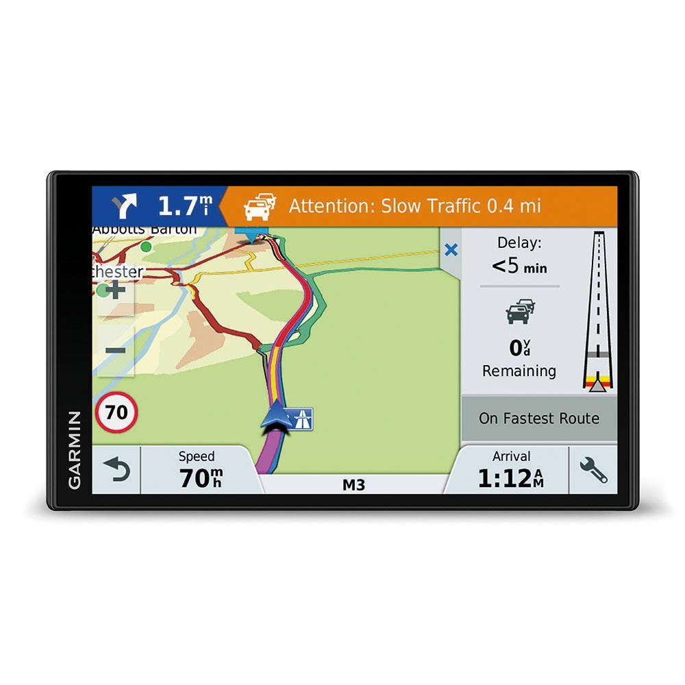 garmin drivesmart 61lmt d sat nav with lifetime. Black Bedroom Furniture Sets. Home Design Ideas