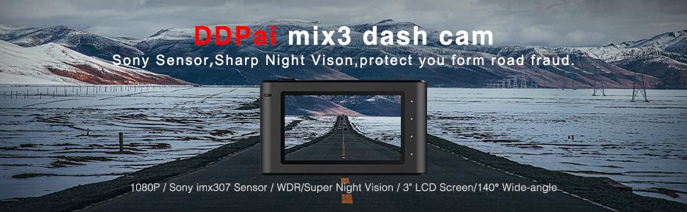 Mix3 Dash Cam