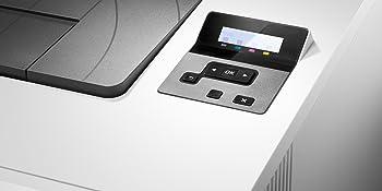 HP Color LaserJet Pro M452nw - Impresora láser a color (A4, hasta 27 ppm, 750 a 4000 páginas al mes, USB 2.0 alta velocidad, Red Gigabit Ethernet 10/100/1000 Base-TX incorporado, USB de