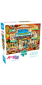 Brown's General Store - 1000 Piece Jigsaw Puzzle