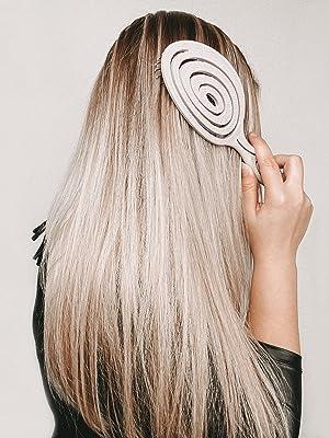 Bio Haarbürste mit Stroh