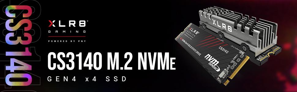 CS3140 M.2 NVMe Gen4 x4 SSD