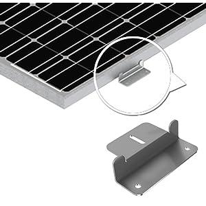 Amazon Com Renogy Solar Panel Mounting Z Bracket Mount