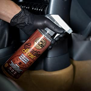 chemical guys air 102 16 leather scent premium air freshener and odor eliminator 16. Black Bedroom Furniture Sets. Home Design Ideas
