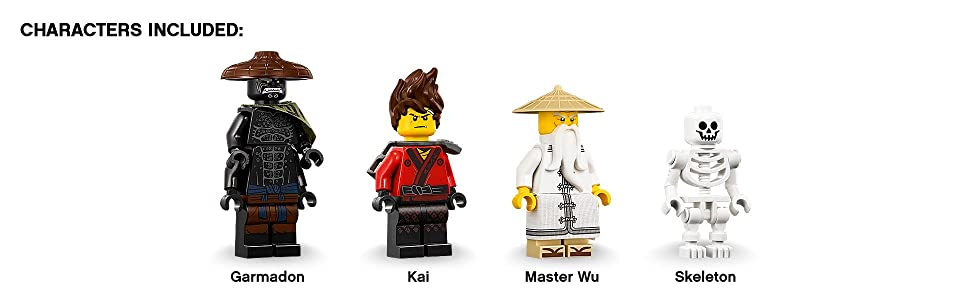 Ninjago Movie, LEGO, building, ninja, creative play, interactive, role play, minifigures