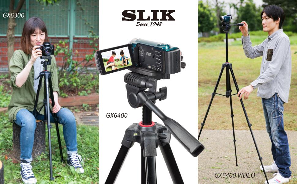 SLIK GX6400 Video 三脚