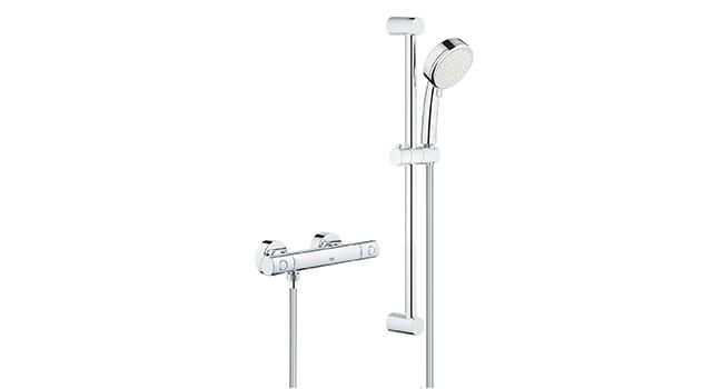 Grohe Grohtherm 800 - Termostato de ducha, tecnología termostática ...