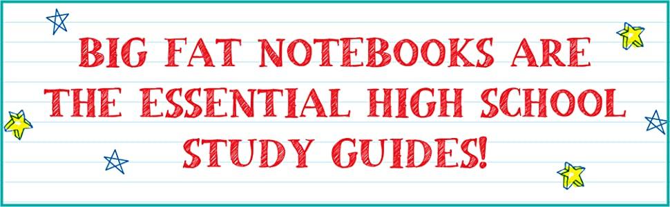 Big Fat Notebooks, Big Fat Notebooks for High School, study guides for high schoolers, study guide