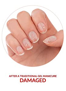 Image result for Gel manicure nail damage