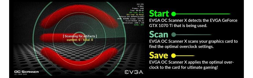 Amazon.com: EVGA GeForce GTX 1070 Ti Gaming 8GB GDDR5 OCX ...