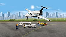 Limousine, private plane, and airport service vehicle