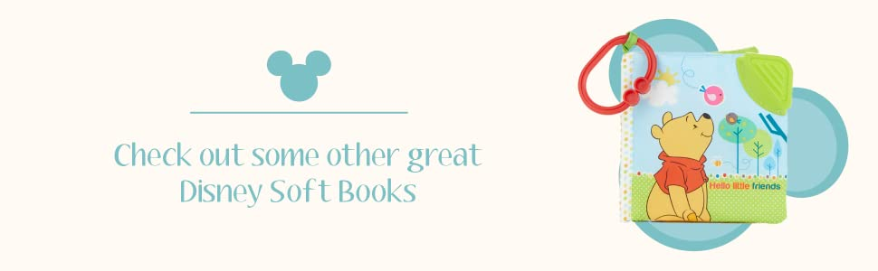 Check out some other great Disney Soft Books