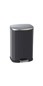EKO; della; trash; garbage; rubbish; waste; can; bin; step; kitchen; bathroom; laundry; office