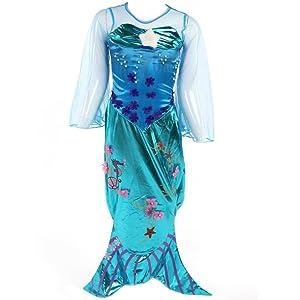 Vestido de disfraz de sirena