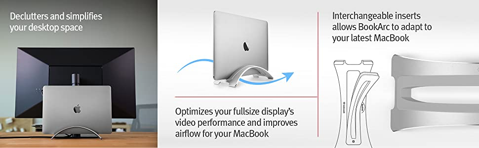 video performance, improved airflow, interchangeable inserts, macbook compatibility, laptop cooling