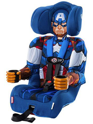 captain america car seat recline seats under lb boys sets toddlers convertible