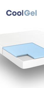 4ac30dba48b Amazon.com  Classic Brands Cool Gel Memory Foam 6-Inch Mattress ...