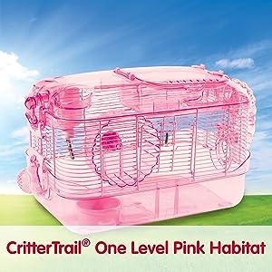 crittertrail habitat, hamster cage, small animal cage, hamster habitat, crittertrail
